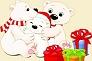 Le No�l de Lulu, l'ours polaire