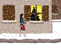 Sous la neige - Clique pour agrandir