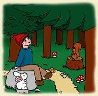 P'tite Pomme et les animaux - Clique pour agrandir