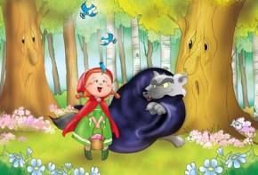 Le Petit Chaperon Rouge - Conte illustré