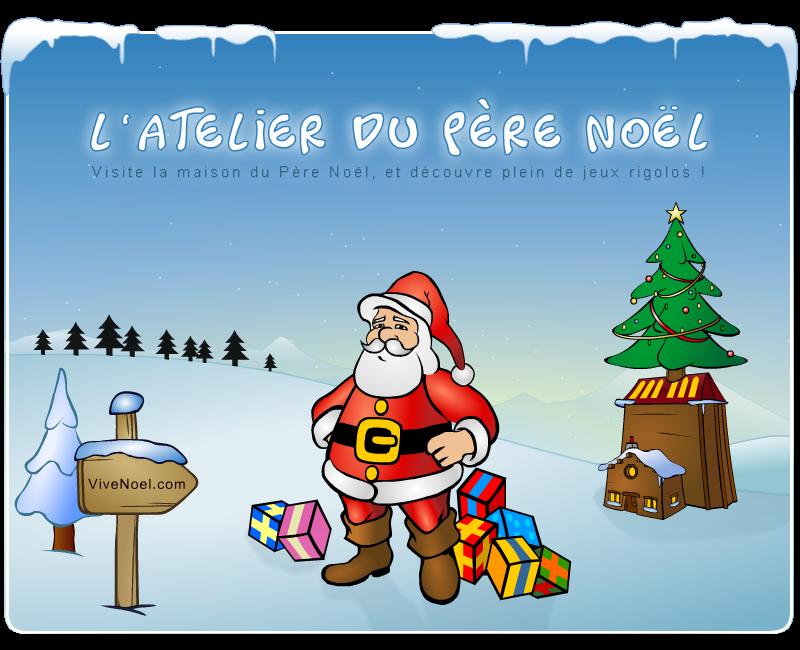 vive noel ViveNoel.: le Père Noël, jeux, contes de Noël, etc vive noel