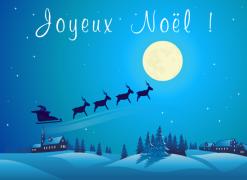 Joyeux Noël ! - Carte de voeux virtuelle