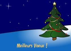 Meilleurs Voeux<br />et Joyeux Noël ! - Carte de voeux virtuelle