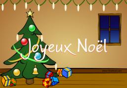Joyeux Noël - Carte de voeux virtuelle
