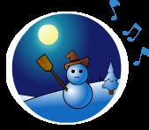 Le bonhomme de neige - Chanson de No�l
