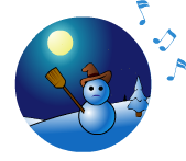 Le bonhomme de neige - Chanson de Noël