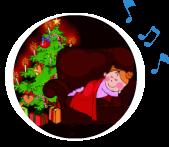 Un, deux, trois, qui est là ? (comptine) - Chanson de Noël