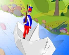 Le petit soldat de plomb  - Conte illustré